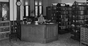 Jane Medbury, Librarian, 1951