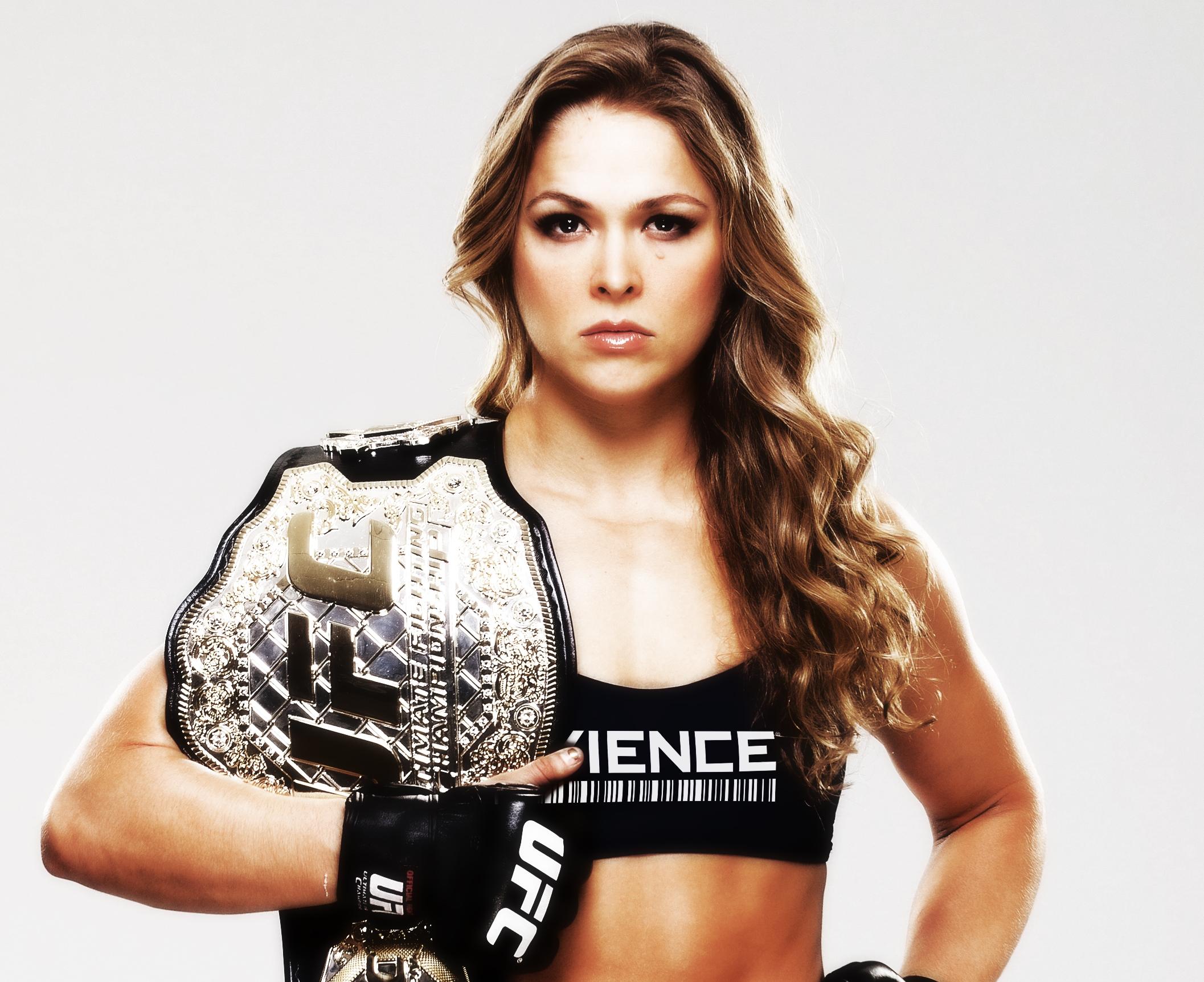 Rohnda rousey - UFC champ