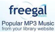 Freegal, Popular MP3 Music from your library website