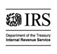 IRS Department of the Treasury Internal Revenue Service logo