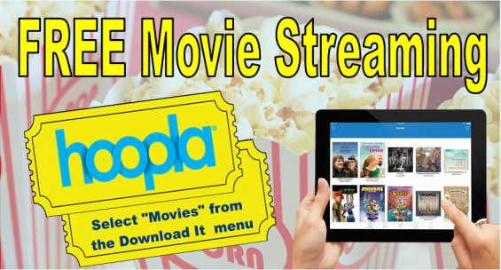 Hoopla Digital Media Free Movie Streaming