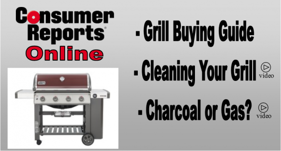 Consumer Reports Online Grill Buying Guide