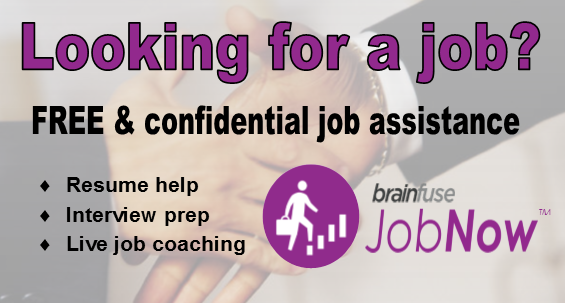 Free and Confidential job assistance with JobNow