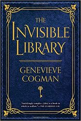 The Invisible Library by Genevieve Cogman book cover