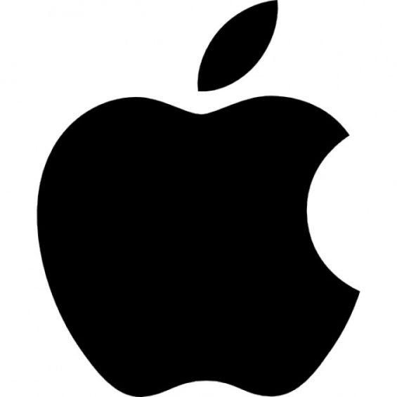 This image has an empty alt attribute; its file name is apple-logo-white-background-565x565.jpg