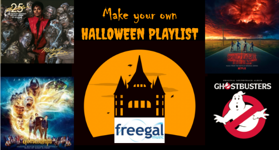 Make your own Halloween playlist on Freegal Music