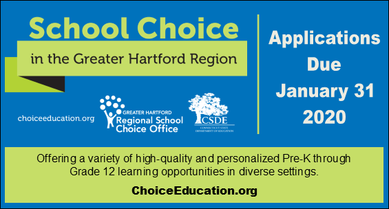 School Choice Applications Due January 31 2020 visit choiceeducation.org