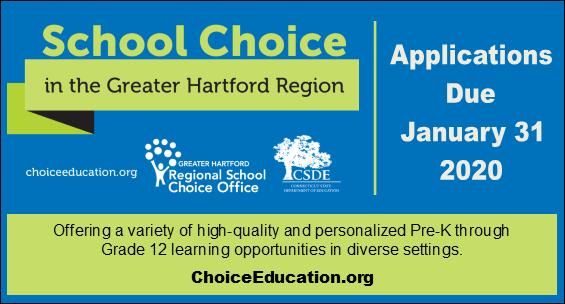 School Choice Applications Due January 31 2020 visit choiceeducation.org