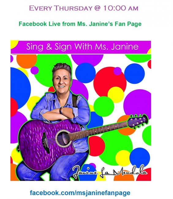 Singing & Signing with Miss Janine