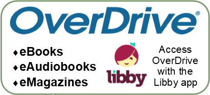 OverDrive Downloadable E-books, Audio Books, and Movies
