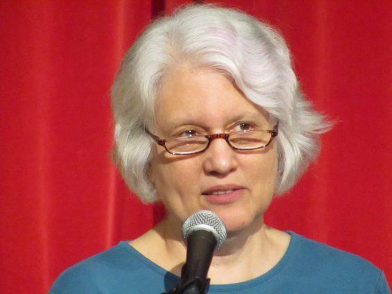 Poet Lori Desrosiers