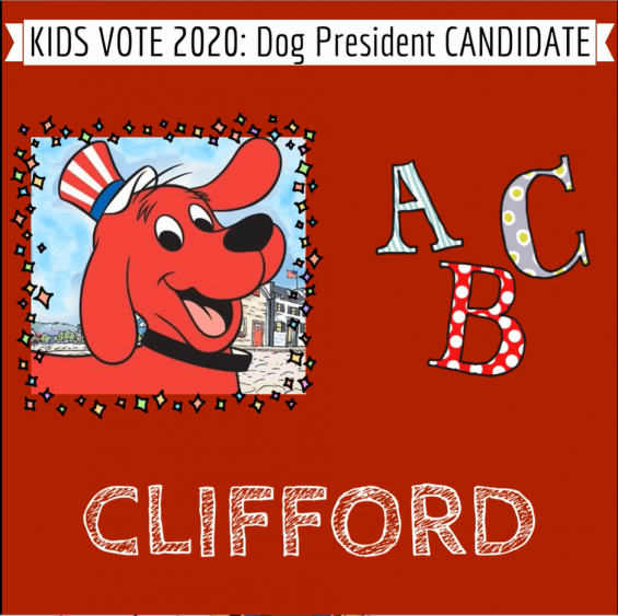 Clifford for Dog President
