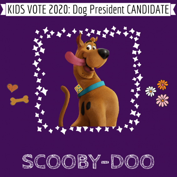 Scooby-Doo for Dog President
