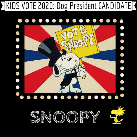 Snoopy for Dog President